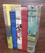 Vintage, P G Wodehouse, Anthony Buckeridge, Talbot Baines Reed, Job Lot