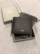 NEW Mens Tom Ford Brown Wallet