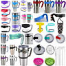 20/30 oz Lid Handle Straws For Yeti for Rambler Tumbler Replacement Cup Holder *