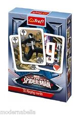 Spiderman Ultimate Marvel mazzo di 55 carte da gioco Bambini classico Poker