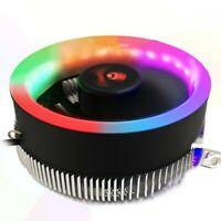 LED CPU Cooler Fan Heatsink For Intel 775/1366/1156/1155 1151 1150 Socket 12V