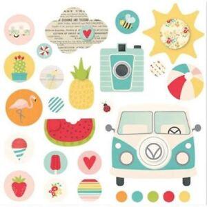 Simple Stories Summertime - Decorative Brads - 9116
