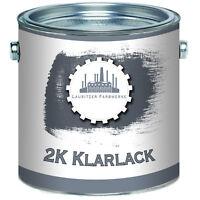 2,5 kg Lausitzer Farbwerke 2k Klarlack Härter SET glänzend Transparent 2-K klar