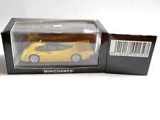 Dauer Porsche 962 Street Straßenversion gelb jaune yellow Minichamps 1:43 boxed!