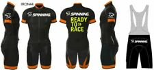 MTB BICI BIKE SPINNING 2020 MAGLIA SALOPETTE PERSONALIZZABILE CYCLING SET