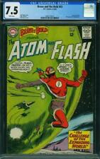 Brave and the Bold #53 CGC 7.5 -- 1964 -- Atom Flash Expanding World #2041116015
