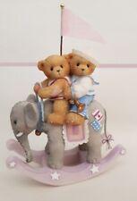 CHERISHED TEDDIES 2005 LARGE FIGURINE, USA EXCLUSIVE, ROCKING ELEPHANT, 4004815