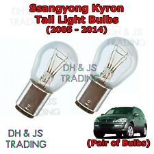Ssangyong Kyron Tail Light Bulbs Pair of Rear Tail Light Bulb Lights (05-14)