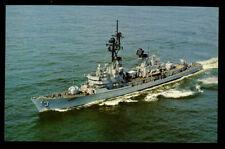 USS John King DDG-3 postcard  US Navy ship Guided Missile Destroyer