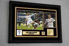 """Cristiano Ronaldo Limited Edition Large A3 Framed Canvas Signed """"Great Gift"""""""