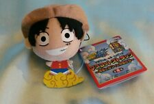 One Piece x Dragonball Z Plush Charm/Dangler- Luffy on Nimbus Cloud *NEW*