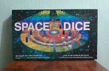 Space Dice vintage board game.
