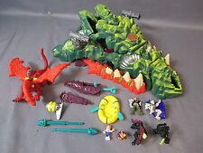 "Mighty Max ""DRAGON ISLAND"" 100% Complete Set 1993 Bluebird Toys"