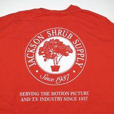 JACKSON SHRUB SUPPLY MOTION PICTURE INDUSTRY SET DESIGN MOVIE PROP T SHIRT Sz L