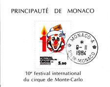 Monaco - 1984 - Festival du cirque  - Bloc N° 29 - Oblitéré - Used