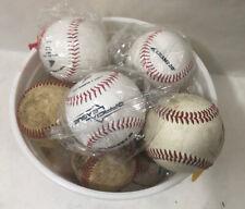 A Dozen New & Used Baseballs (6 New & 6 Used)