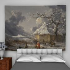George Morland Wall Hanging Tapestry Psychedelic Bedroom Home Decoration