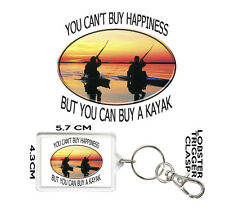 KAYAKING GIFT KEYRING You Can't Buy Happiness But You Can Buy A Kayak