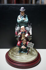 Disney Store Haunted Mansion Stretch Painting #2 Men in Quicksand Figure