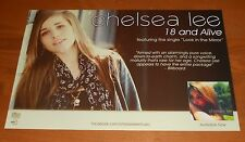 Chelsea Lee 18 and Alive Poster Original Promo 17x11