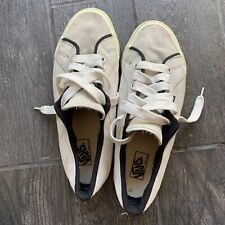 Vintage 90s Vans Made in Usa Size 13 Suede Skate Shoes Grey/Black 80s Rare