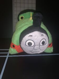 THOMAS THE TRAIN #6 PERCY PILLOW PET PLUSH MADE BY PILLOW PETS PEE WEES