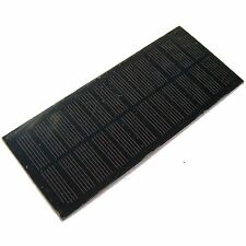 6V 2W Solar Panel for Light Battery Cell Phone Charger DIY Portable 330mA Power