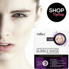 Face BUBBLE Mask L'biotica Deep Clean SHEET Intensive Cleansing Bubble Mask UK
