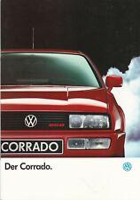 Werbeprospekt VW - Der Corrado, Ausgabe Januar 1991