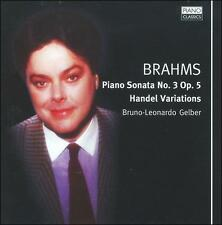 Brahms: Piano Sonata No.3; Variations on a Theme of Handel in B flat major, Op.
