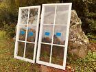 2 Antique Vintage 6 panes Casement Window sash 18-3/4 x 39 from 1928