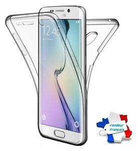 Coque Silicone Gel Protection Intégrale 360° ~ Samsung Galaxy S6 Edge / SM-G925