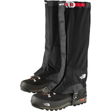 The North Face GORE-TEX GAITERS Summit Series Hiking Black Sz L UK 7-10 EU 40-45
