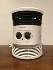 Portable Space Heater Honeywell 360 Degree Surround Heat White HHF360W