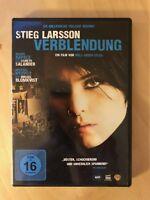 VERBLENDUNG DVD *Stieg Larsson* Millennium Trilogie