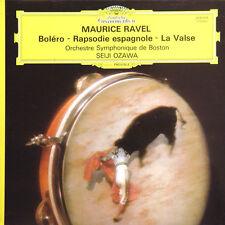MAURICE RAVEL Boléro Raps Espagnole Seiji Ozawa FR Press D Gram 2530 475 1974 LP