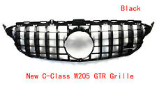 Mercedes Benz New C-Class Grill  W205 GTR  Front Grille Black AMG 15-17 NEW