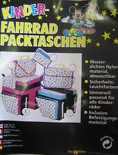 Prima Fahrradpacktasche Fahrrad Tasche Seitentaschen für alle Kinder RäderPINK