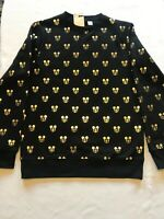 Disney GOLDEN MICKEY MOUSE Sweatshirts NEW Sizes XS, S, M, L, XL, XXL NWT