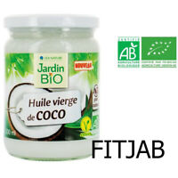 Gardin Bio Huile Vierge de Coco Bio 470 ml OR 940 ml 100% pure et naturelle