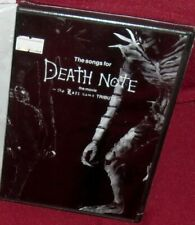 1 CD FILM MANGA LIVE MOVIE SOUNDTRACK-THE SONGS DEATH NOTE THE LAST NAME TRIBUTE