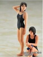 Resin Figure Kit 1/35 Swimming Girl Garage Kit Figure