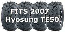 2007 Hyosung TE50 Go Cart Tires WANDA 145/70-6 145x70x6, Set of 4
