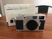 Zeiss Ikon ZM Rangefinder 35mm Film Camera Body (Silver) w/ Box