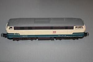 PIKO Diesel Locomotive Series 218 204-6 DB Blue/Beige Gauge H0