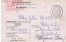 Carte Stalag VII B Gneixendorf.b.Krems.a.d.Donau Brief Germany WWI