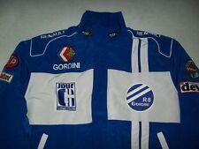 NEU RENAULT GORDINI R8  Fan-Jacke blau weiß jacket veste jas giacca jakka