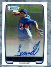 JEIMER CANDELARIO 2012 Bowman Chrome Prospects Autograph BCP 20 Detroit Tigers