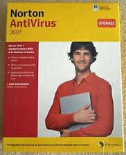 Symantec NAV - NORTON ANTIVIRUS 2007  upgrade - VINTAGE vendo USATO