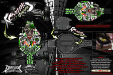 TRAXXAS SLASH 2WD LCG CHASSIS PARTS 'LUCKY' HOP UP GRAPHICS DECALS WRAP GREEN